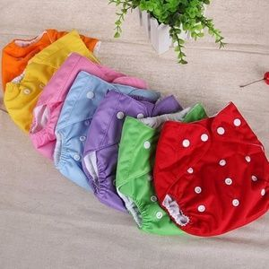 2 pack Baby Girls Swim Washable Diaper Pant 0-3y